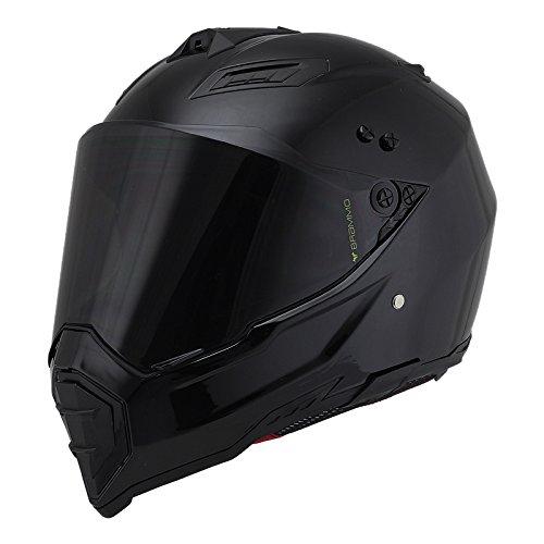 Woljay Off Road Helm Motocross-Helm Motorradhelm Motocrosshelme Fahrrad ATV (XXL, Schwarz)
