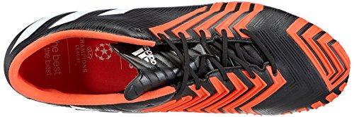Adidas - Predator Instinct Fg, Scarpa Da Calcetto da uomo Nero (core black/ftwr white/solar red)