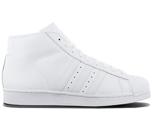 new arrival 93596 4f3fd Adidas Originals Superstar Pro Modelo de la Zapatilla de Deporte Blanca  AQ5217, Herren - Schuhe