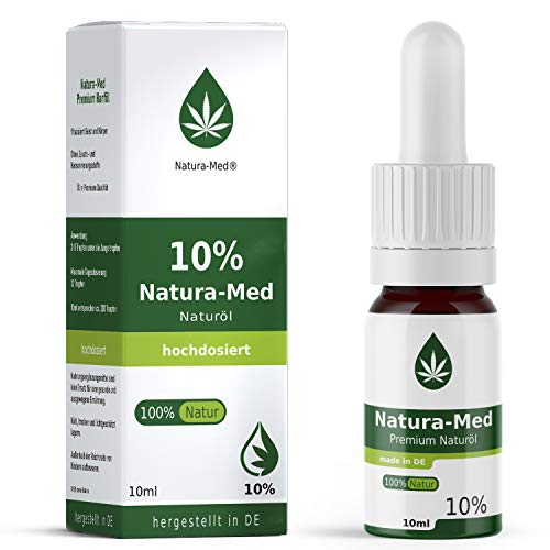NATURA-MED 10{2514d4b758a5fee324a5509ca223604692a765a6ece01809f20fcb2bd45f048b} C-ACTIVE 10ml | Natur Öl Tropfen - LABORGEPRÜFT - Premium Rohstoffe und zertifizierte Produktion