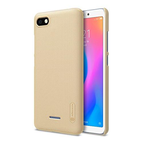 Nillkin Funda Xiaomi Redmi 6A, Funda Protectora Antideslizante Ultra Fina para PC Protección Completa para Xiaomi Redmi 6A - Dorado