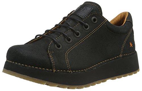 ArtHeathrow Lace Shoe - Stivali donna Nero (Black (Waxy Black))