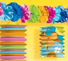 Estilo-hawaiano-Tiki-de-guirnalda-wFlores-hawaiana-fiesta-decoraciones-para-cumpleaosfiesta-accesorios-y-tazas-etc