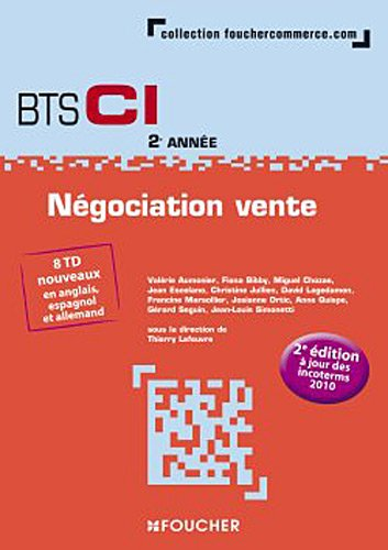 Négociation Vente 2e année BTS
