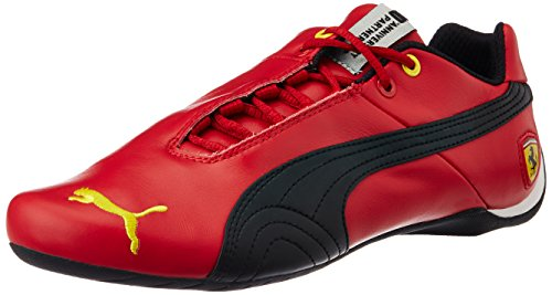 Puma Future Cat Leather SF -10- Unisex-Erwachsene Sneakers, Rot (Rosso Corsa), 44.5 (Cat Puma Future)