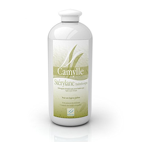 Camylle - Sterylane Balnéo - Détergent et désinfectant pour le nettoyage et la désinfection des baignoires balnéo et des cuves de spa - 1000ml.
