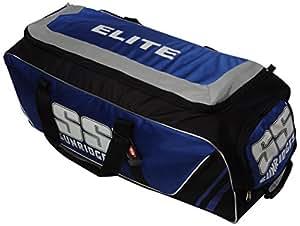 SS Elite Wheel Cricket Kit Bag (Blue/Black)