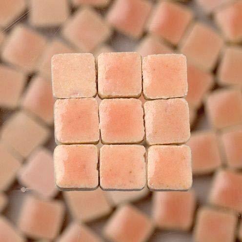 Unbekannt 229302810x 10x 3mm 70g 150-tlg. Keramik glasiert Mosaik Fliesen, Light Pink