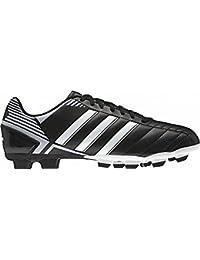 best website d8619 e0fb8 Adidas Scarpe da Calcio Puntero VIII TRX HG, Nero Bianco Argento