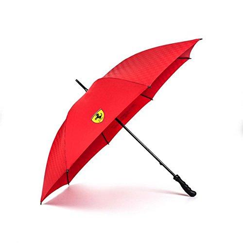 Scuderia Ferrari Regenschirm Golfschrim Logo Groß 120 cm