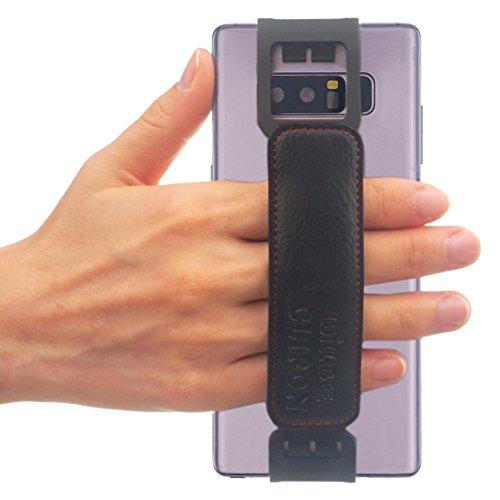 WiLLBee CLIPON 2 Wide für Groß Smartphone (Smartphone Größe : 6~6.5 Zoll) Elastisches Halteband Hand Griffgefühl hülle Halter für Handys - Galaxy Note8, Galaxy S9 Plus, Galaxy S8 Plus, LG V30, V20 (Handy Cover Galaxy Mega 2)