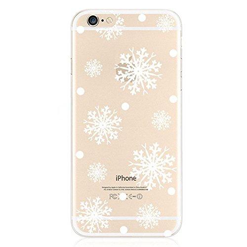 iPhone 6S Plus Bumper Coque,iPhone 6S Plus Fille Coque,iPhone 6S Plus Transparente Coque,Coque Housse Etui pour iPhone 6 Plus / 6S Plus,EMAXELERS iPhone 6S Plus Silicone Case Slim Gel Cover,iPhone 6 P TPU 12