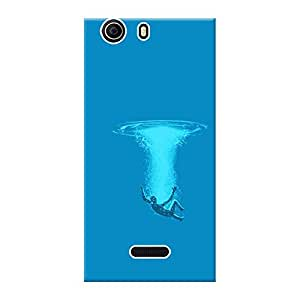 Mobile Back Cover For Micromax Canvas Nitro 2 E311 (Printed Designer Case)