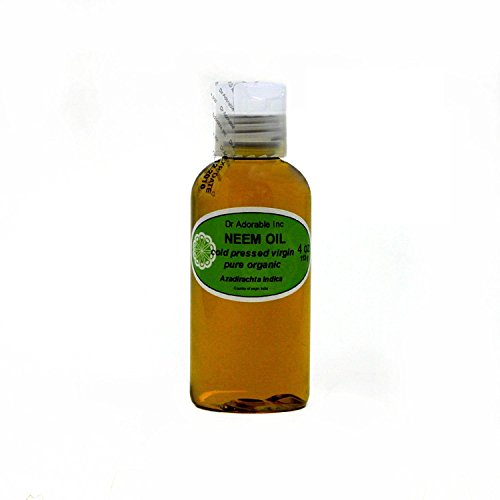 Organic Pure Carrier Oils Cold Pressed 4 oz (Neem Oil)