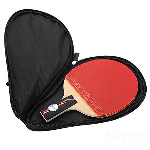 mark8shop Raquette de tennis de table Raquette Ping Pong à Étui Sac de