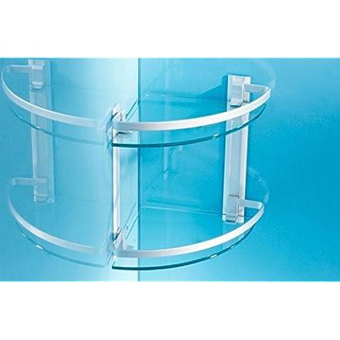 zhq vidrio triangular litera individual bandeja de accesorios de baño de aluminio espacio