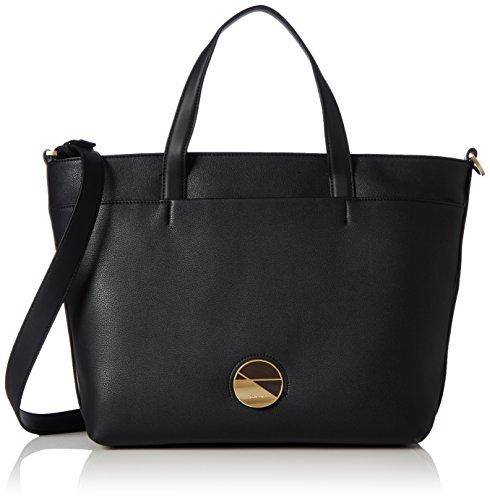 Calvin Klein Jeans Juli3t Tote, Sac Femme, Noir (Black), 14 x 46 x26 cm (B x H x T)