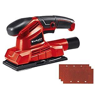 Einhell TC-OS 1520/1 Lijadora Orbital, 150 W, 230 V, Rojo