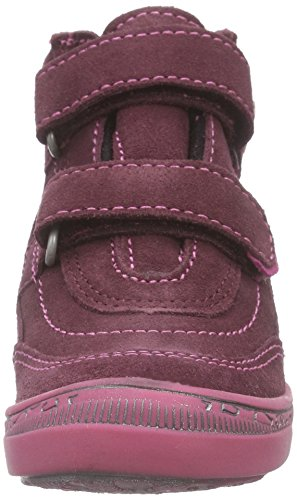Richter Kinderschuhe Rosy, Baskets hautes fille Violet - Violett (aubergine/lolly  7701)