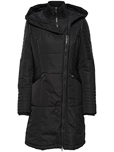 Only Damen Mantel onlWINNIE FUR NYLON COAT OTW Black/Black Coffe