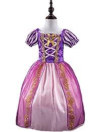FNKSCRAFT® Niña Halloween Cosplay Costume Disfraces Vestido de princesa hinchado Cosplay Disfraces Víspera de Todos los Santos Vestidos Cenicienta