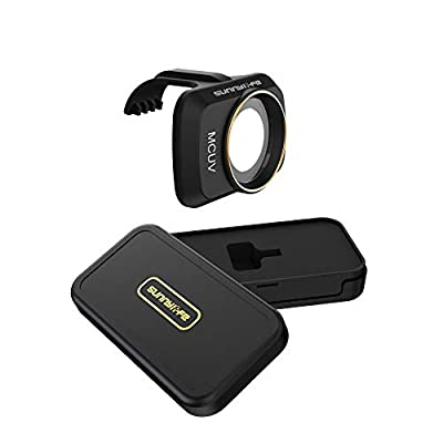 RONSHIN Drone Lens Filter Set CPL NDPL MCUV Kits for Mavic Mini Airplane Mini Camera Accessories Multi-layer Coating Optical Glass CPL ND8 ND16 Electronic Accessories