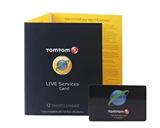 TomTom LIVE Services 12 Months Pre-Paid Subscription Card (B0021AEDTG) | Amazon price tracker / tracking, Amazon price history charts, Amazon price watches, Amazon price drop alerts
