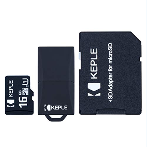 16GB Micro SD Speicherkarte | MicroSD Class 10 Kompatibel mit LG K4, K7, K8 K10, Ray, G2 Mini, G3, G4, G4c, G5, LG G6, LG X Screen, LG X Cam Handy | 16 GB - Reader Lg Sd-card G2 Für