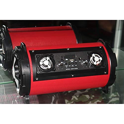 Lyyxz Bluetooth Speaker Outdoor Neue Multifunktions-Funklautsprecher High Power Card Praktischer Mikrofonlautsprecher