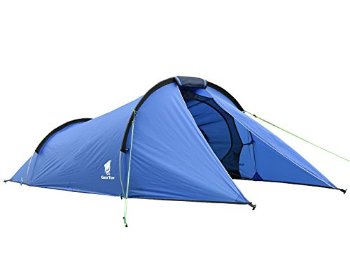 geertop lightweight waterproof 2 person tunnel camping tent for hiking trekking backpacking outdoor trips