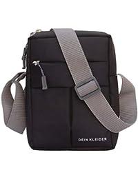 Dein Kleider Nylon Sling Cross Body Travel Office Business Messenger one Side Shoulder Bag for Men and Women