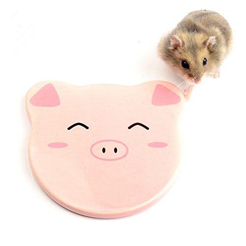 Amakunft Sommer Kühlung, Cartoon, Deko für Igel, Hamster, Ratten, Kleine Tiere, 1,2x 3,74cm