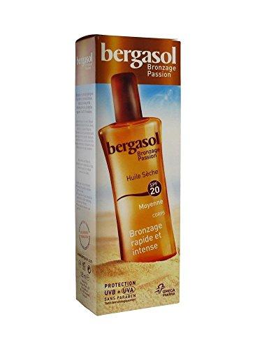 Bergasol SPF 20 Dry Oil Body 125ml - Dry Oil Body