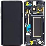 Handyteile24 ✅ Original Samsung Galaxy S9 G960F LCD Display Touchscreen Bildschirm Rahmen Schwarz GH97-21696A