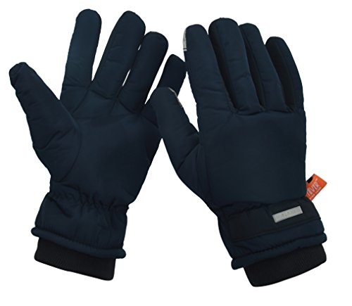 HIVER Men's and Women's Waterproof Teslon Gloves,Touch Screen Winter Gloves, Snow gloves for minus degrees, Mens gloves & Womens gloves (Medium) 41Zpp6KzCdL
