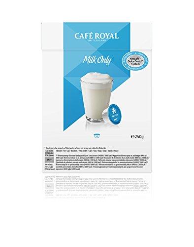 Café Royal Milk Only, 64 kompatible Kapseln für Nescafé Dolce Gusto, 4er Pack (4 x 16 Kapseln)