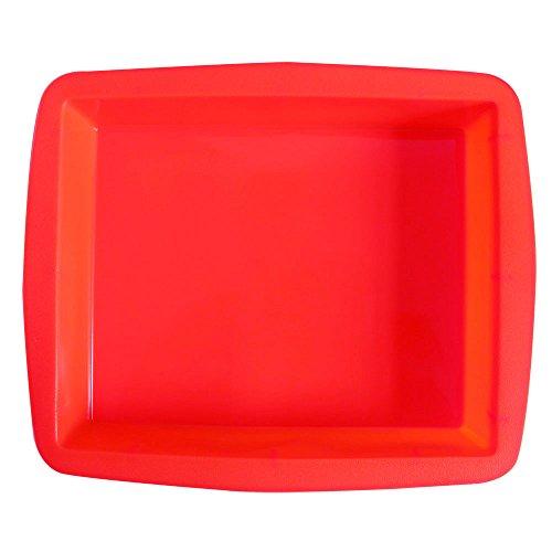 BAKER DEPOT Molde silicona rectangular grande molde
