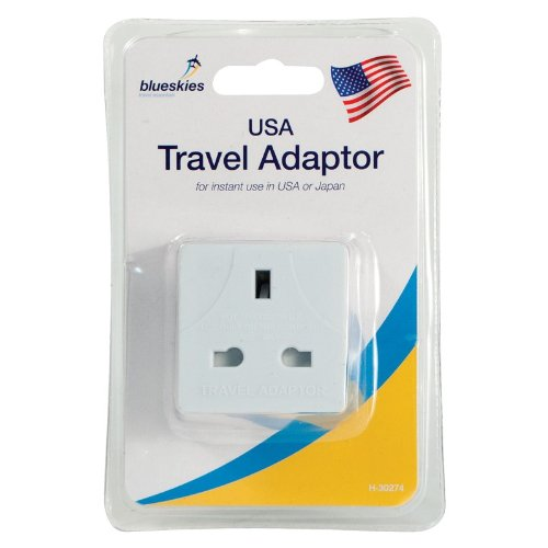 2 Travel Adaptor - UK to USA
