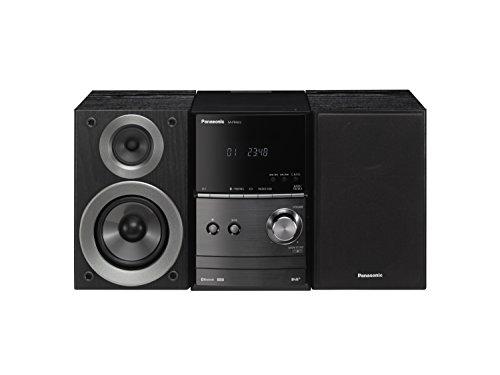 Panasonic SC-PM602EG-K Micro-Anlage mit Digitalradio DAB+ (CD, Bluetooth, UKW Radio, HiFi-System mit 40W RMS) schwarz Panasonic Mini-stereo-system