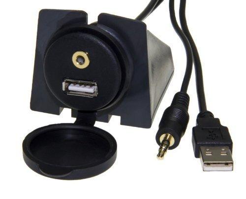 Adapter-Universe® 4391 - Cable Adaptador para Coche con Conector USB (Incluye conexión...