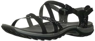 Merrell Jacardia, Women's 's Slip-On Casual Sandals - Black (Black), 4 UK