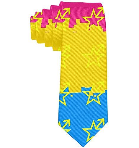 Cravatta da uomo slim da uomo cravatta cravatta moda cravatte per feste aziendali