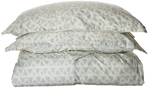 ECHO Design Mykonos Bettbezug für King-Size-Betten, geometrisches