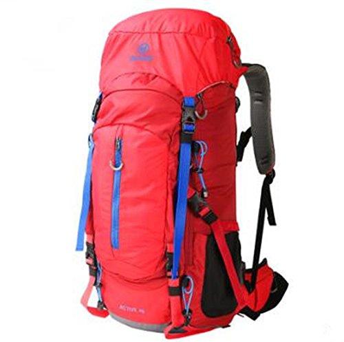 Al aire libre mochila montañismo bolsa bandolera bolsa 70l a macho y hembra gran capacidad ocio bolsa de viaje deportes bolsa de viaje a pie