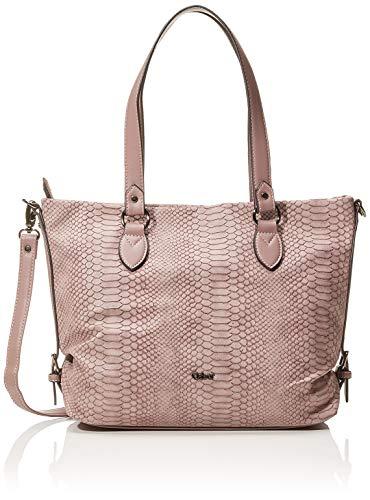 Gabor Shopper Damen Romana, Pink (Old Rosé), 36x25x10 cm, Gabor Tasche Damen -