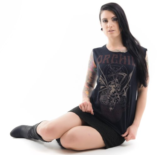 Orchid The Zodiac Sessions T-Shirt Schwarz