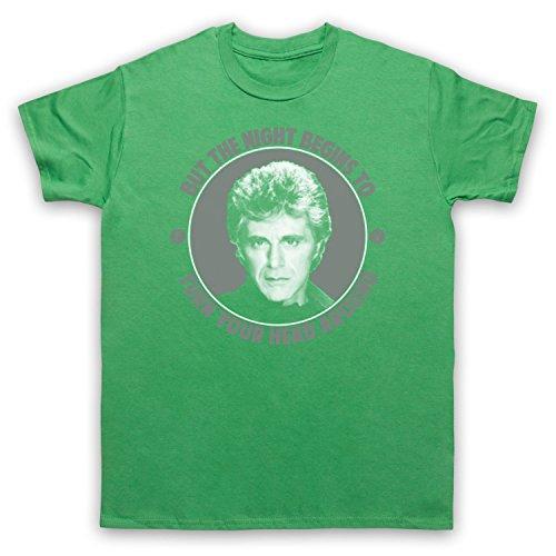 Inspiriert durch Frankie Valli The Night Unofficial Herren T-Shirt Grun