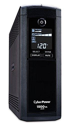 CyberPower CP1500AVRLCD UPS (Black)