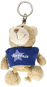NICI n15855-Llavero Oso con Camiseta Antonio, Azul