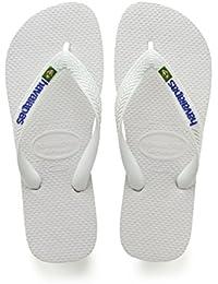 Havaianas Unisex - Erwachsene Brasil Zehentrenner, Grün (Brasil Amazonia), 47/48 EU (45/46 Brazilian)